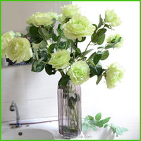 Good quality best selling artificial velvet rose