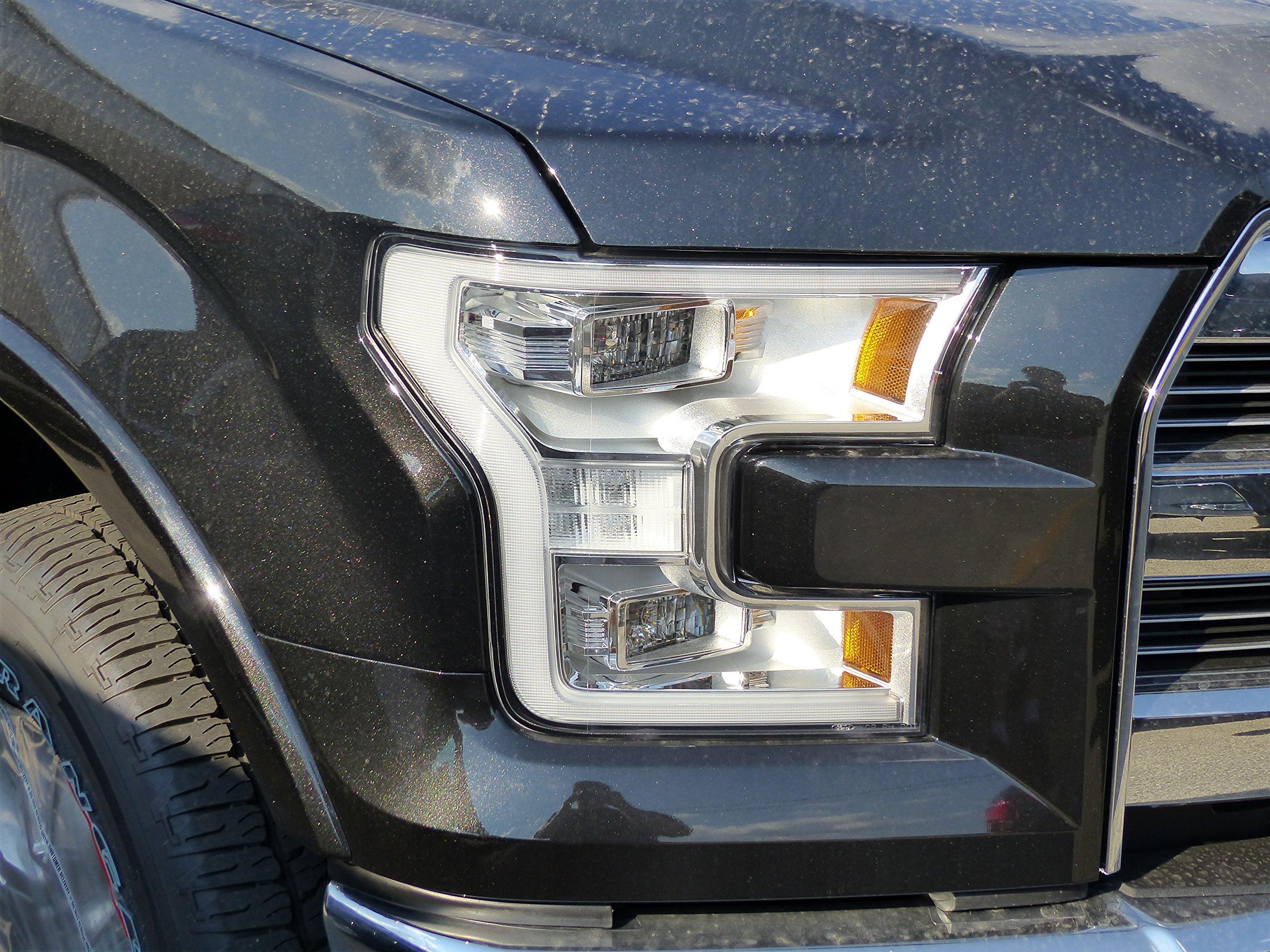Get Quotations · 2015 Ford F-150 Right Passenger LED Headlight Lamp Xenon  Housing OEM FL3Z13008C