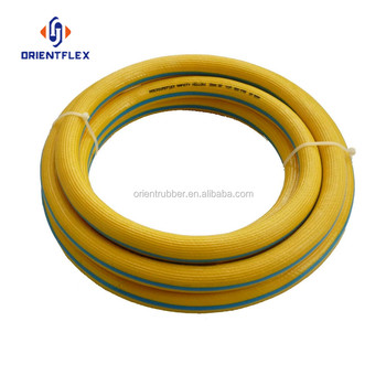 Premium braided high tensile strength multi-function mining yellow air hose suppliers