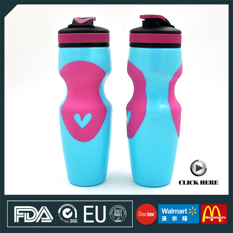 25oz plastic liquor bottle as promotional gift items for gym