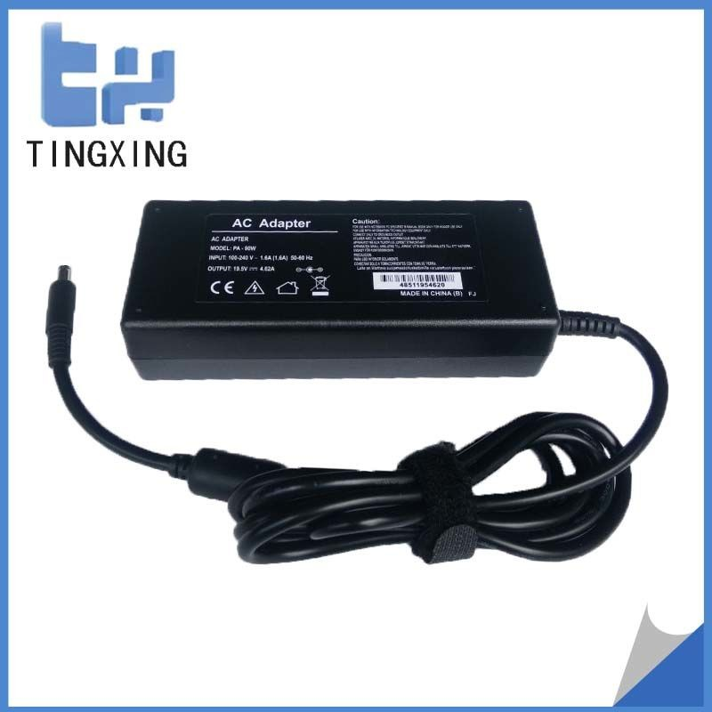 OEM China factory cheap Laptop Adapter for dell 19.5V4.62A90W Notebook charger 4.5*3.0MM