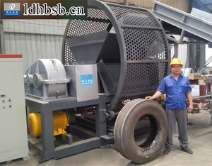 Waste Tire Recycling Machine Line With Innovative Technology