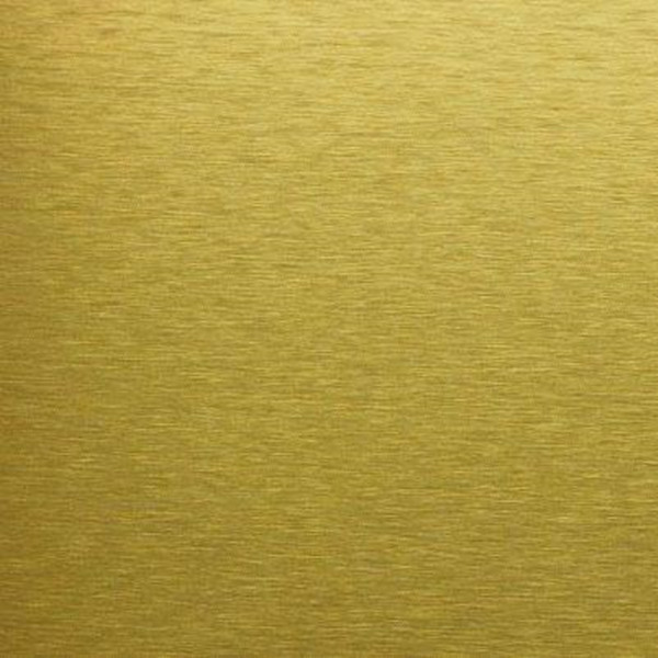 Silver Anodized Aluminum Sheet With Golden Fine Brush