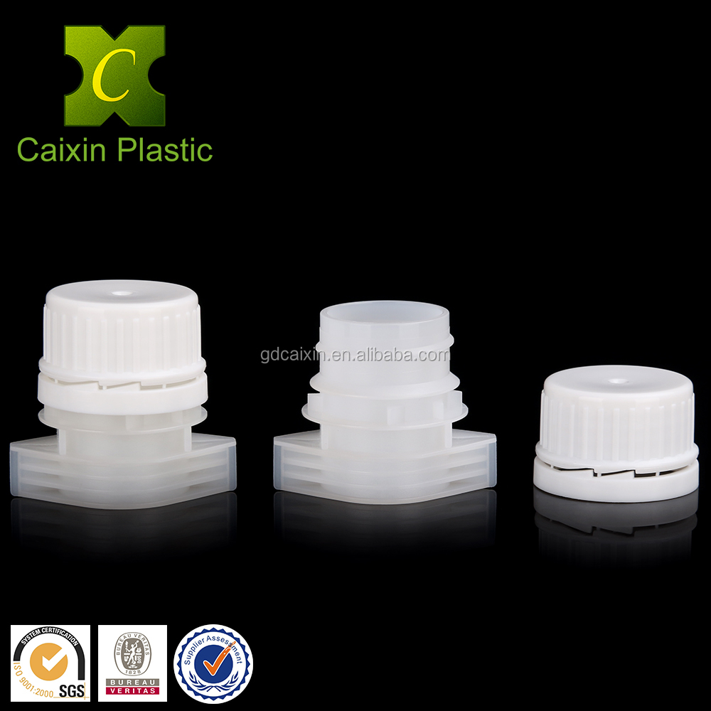 China Manufacturer 22mm PE Spout Caps for Flexible Packaging