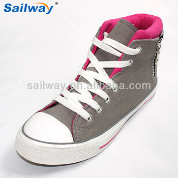 af59ee73a0280 Fashion Shine Brands Ladies Rubber Shoes With Zipper - Buy Brands ...