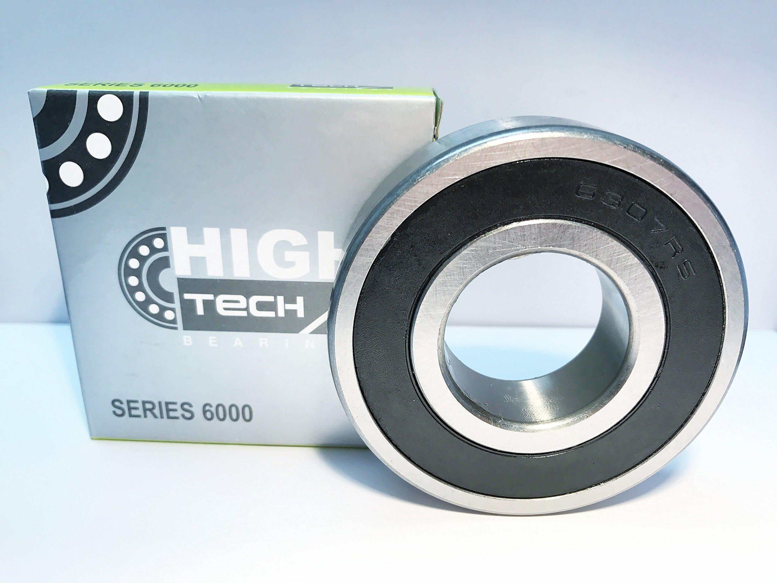 Qty 10 6307 RS 6307 2RS Premium Deep Groove Sealed Bearings 35x80x21 6307