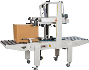 high efficiency semi automatic carton sealer for paper carton/box
