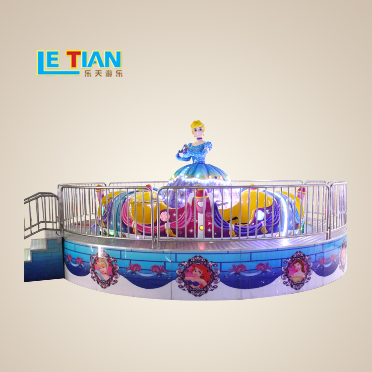 Hot sale 16 seats Indoor Amusement Equipment Kids Rotating Rides for sale