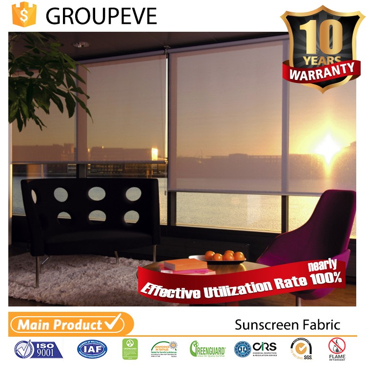 Vertical And Roller Blinds Outdoor Balcony Curtains Fabric