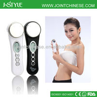 Skin whitening multifunctional 3 level intensity intelligent ultrasound face beauty tips for women