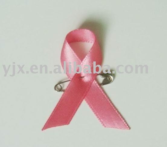 satin ribbon bow with safety pin used in food/gift packaging