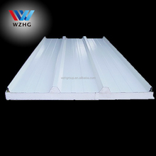 Easy instalation metal steel faced kingspan water-proof EPS sandwich wall panel with best price
