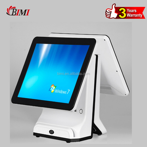 I3 / I5 Best Desktop POS Monitor All In One POS System connected Scanner / Printer