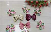 Ribbon bow pre-made bow/ribbon bow brooch buy wholesale direct from china