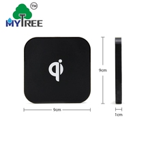 Mytree Square Q8 Compatible Enable Qi External Backup Battery Wireless Charger