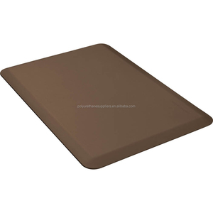 Fashion custom pvc foam waterproof elastic kitchen floor PVC covers Mat