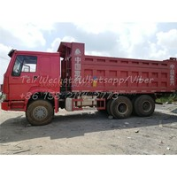 Sino Truck Used HOWO 10 Wheels Dump Truck Tipper 6X4 with Good Condition for Africa