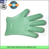 High quality FDA certificated Heat-resistant dotted Silicone oven mitt