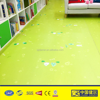 Cartoon Picture Kids Child Room Pvc Vinyl Floor