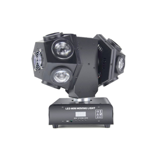 12pcs 10W RGBW LED Moving Head Wash Light With Dmx Color Change