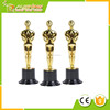 "Wholesale 6"" Gold Award Trophy/ Award Statue/plastic oscar trophies for Celebration"