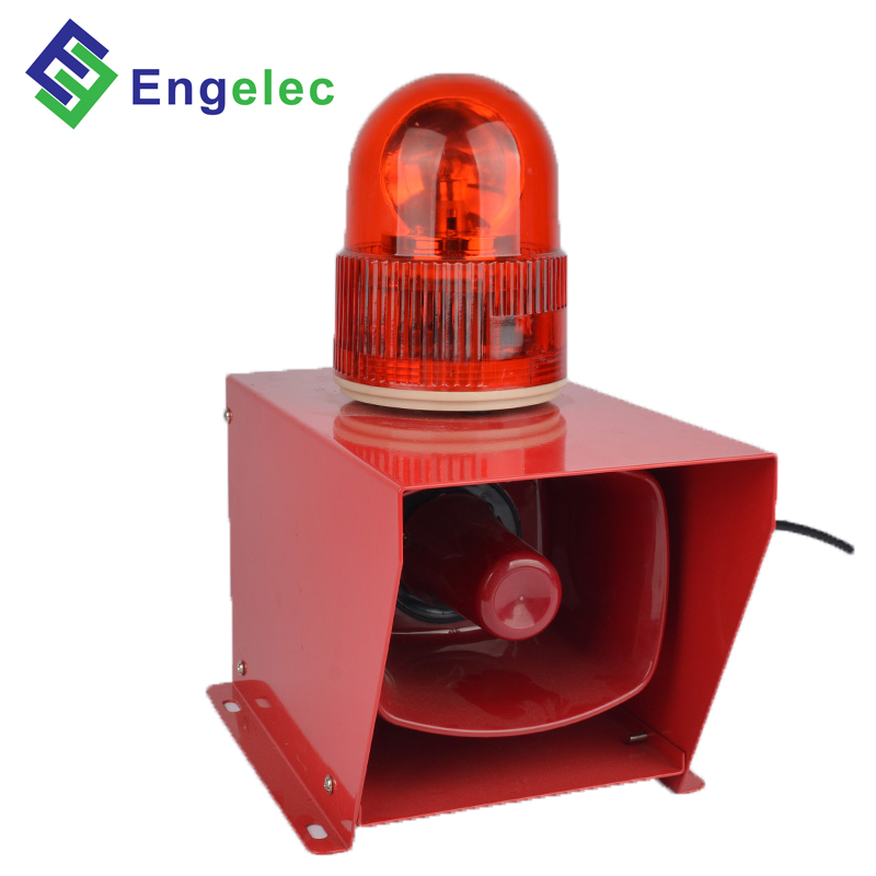Use for travelling crane AC48/AC110/AC220/AC380/DC12V/DC24V 95DB-110DB IP54 red/yellow/green/white/blue color siren <strong>alarm</strong>