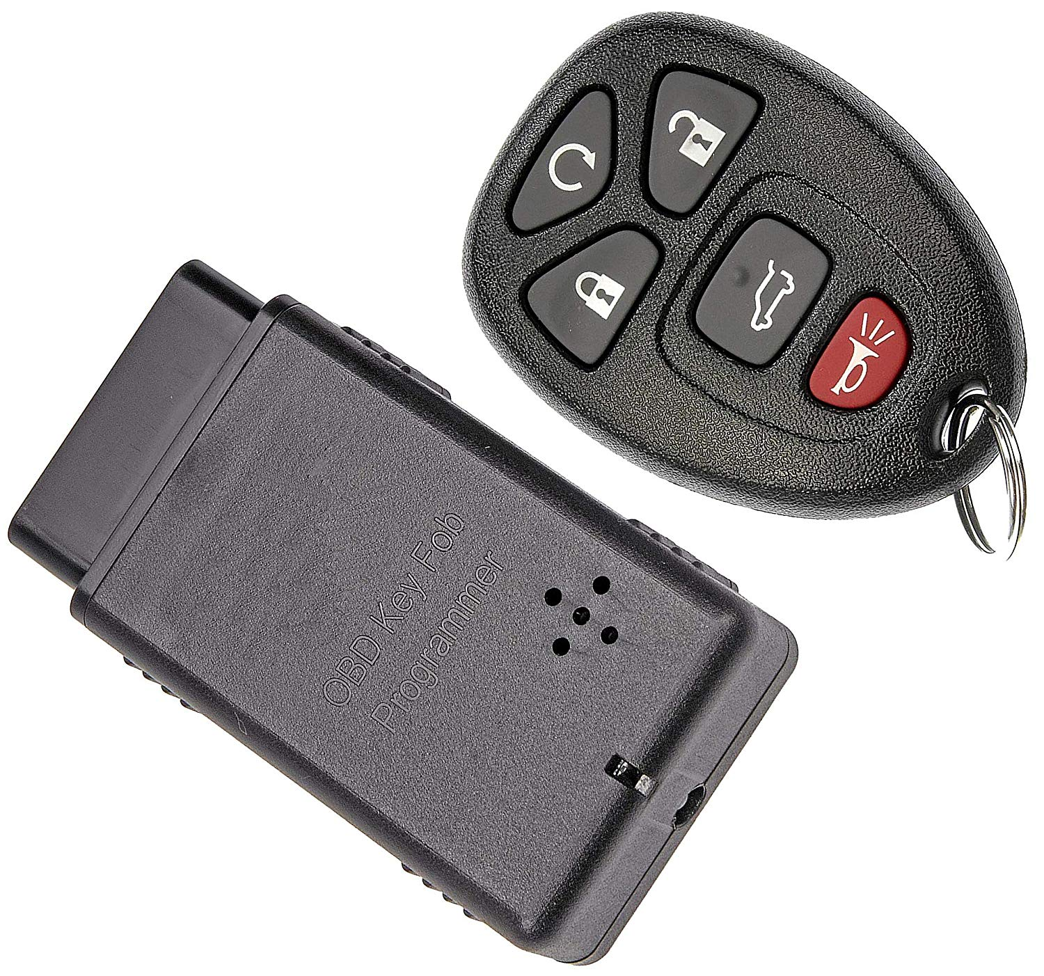 APDTY 121923 Keyless Entry Remote Transponder Key Fob w/ Auto Programming Tool (Fits Models With Auto Start Software; Replaces GM 15913415, 20869053, 20869963, 20952477, 22756459, 22936101, 22951509)