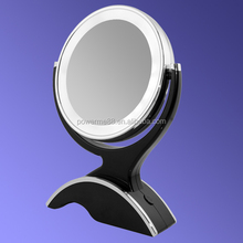 plastic table mirror fashion cosmetic mirror cosmetic desktop mirror with double sides