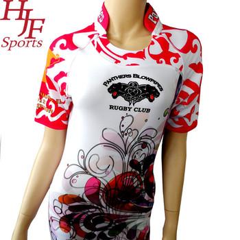 89de3d123f Ladies Sublimation Rugby Jersey - Buy Custom Design Sublimation ...