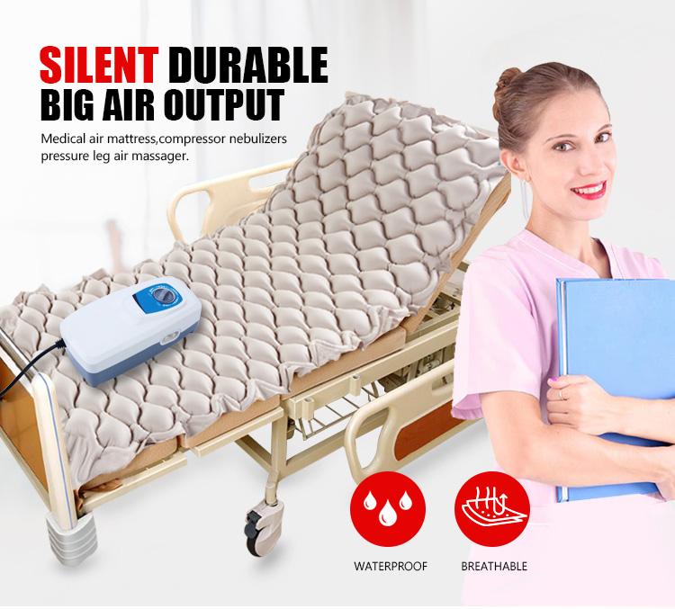 Alta Presión Transferencia de pacientes de burbuja de aire masaje de compresión médica colchones