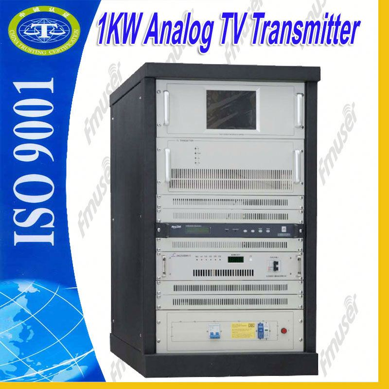 1KW Analog UHF cable tv transmitter satalite tv A3
