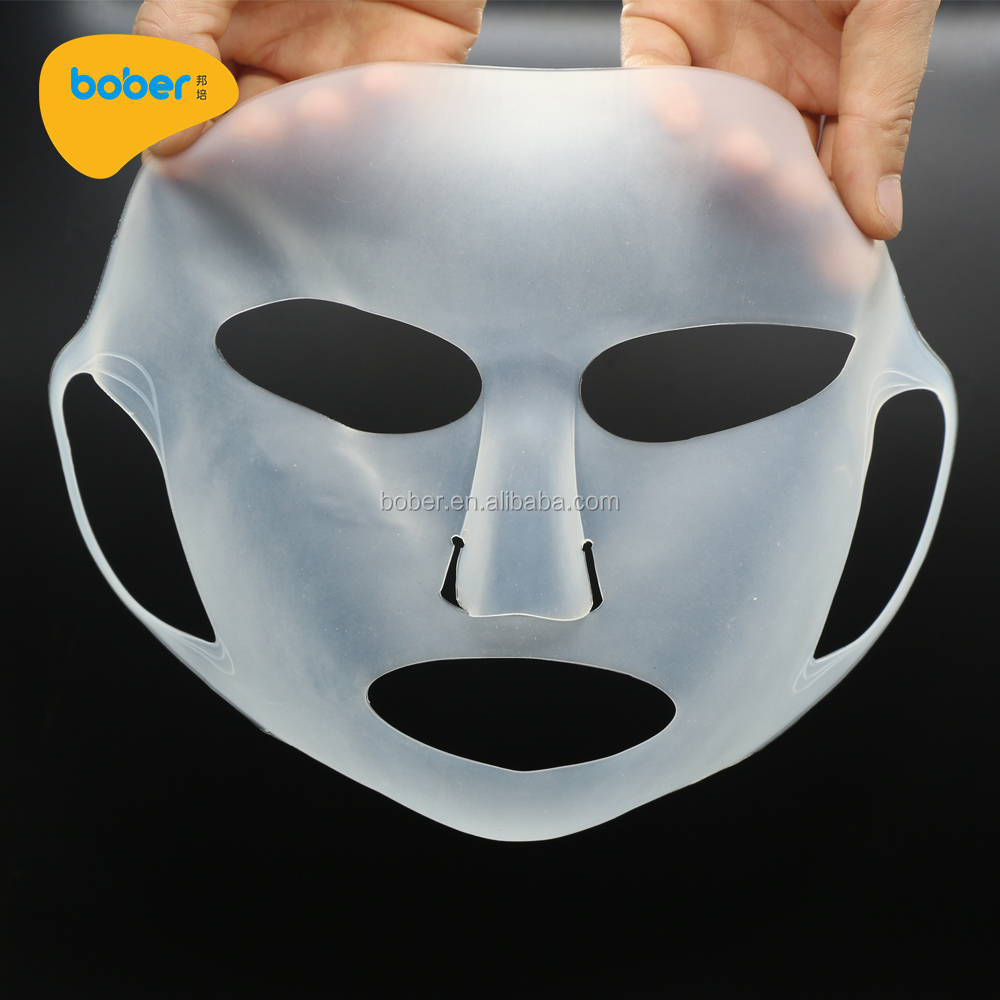 New Products 3D Reusable Realistic Silicone Female Face Mask Cover For Sheet Mask