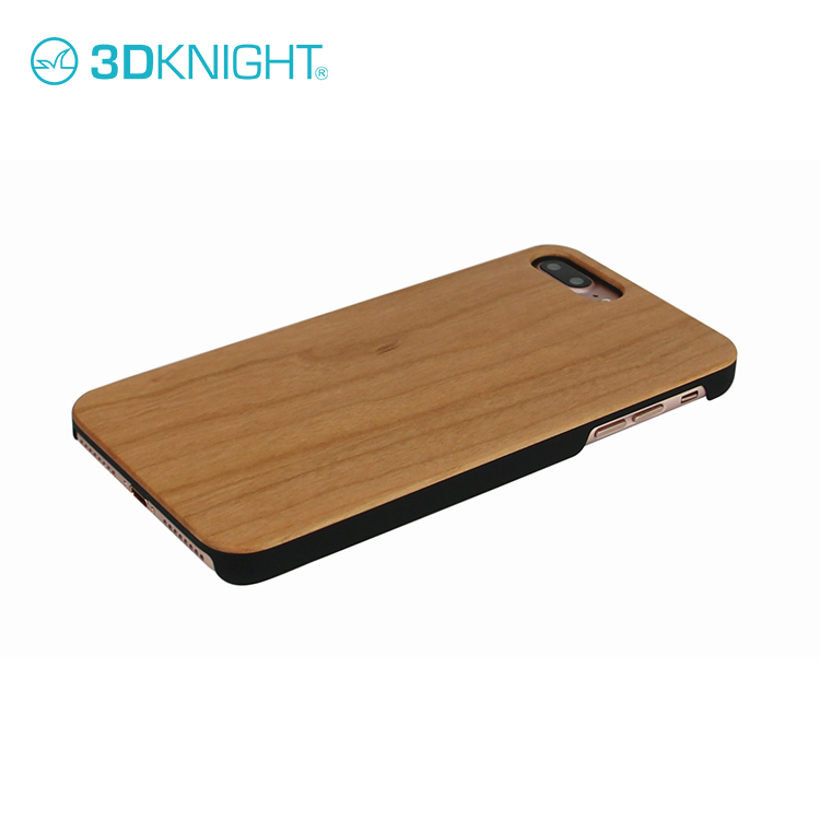 2017 Latest fashion design Real Wood for iPhone 8 7 Cover Case Wooden Rosewood Custom Printing Engraving