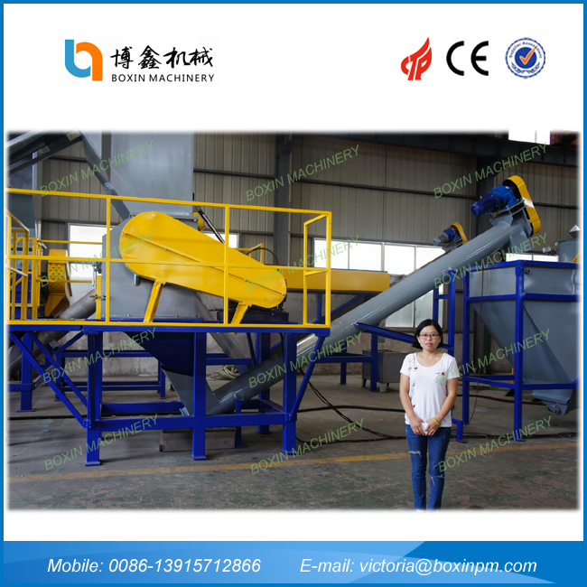 Brand new waste bag recycling line with high quality