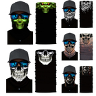 100% Polyester Multifunctional Neck Tube Skull Bandana