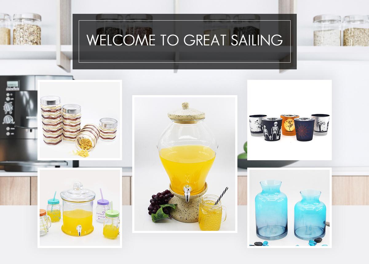 Zibo Great Sailing Light Industrial Products Co Ltd Glass  ~ Botes De Cristal Hermeticos Ikea