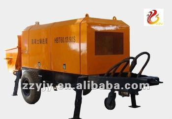 trailer mounted concrete pump, small concrete pumps sale