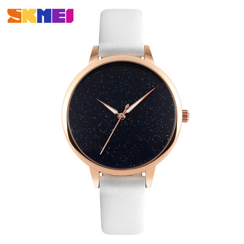 a285288b9 skmei 9141 best selling products new fashion stainless steel back ultra  simple ladies leather wrist watches