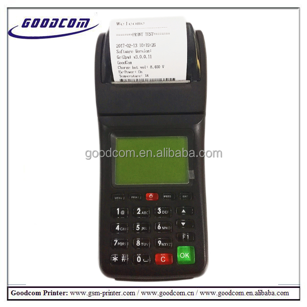 GOODCOM GT6000SW Wireless Wifi 3g High quality thermal printer restaurant pos system thermal printer for ticket printing