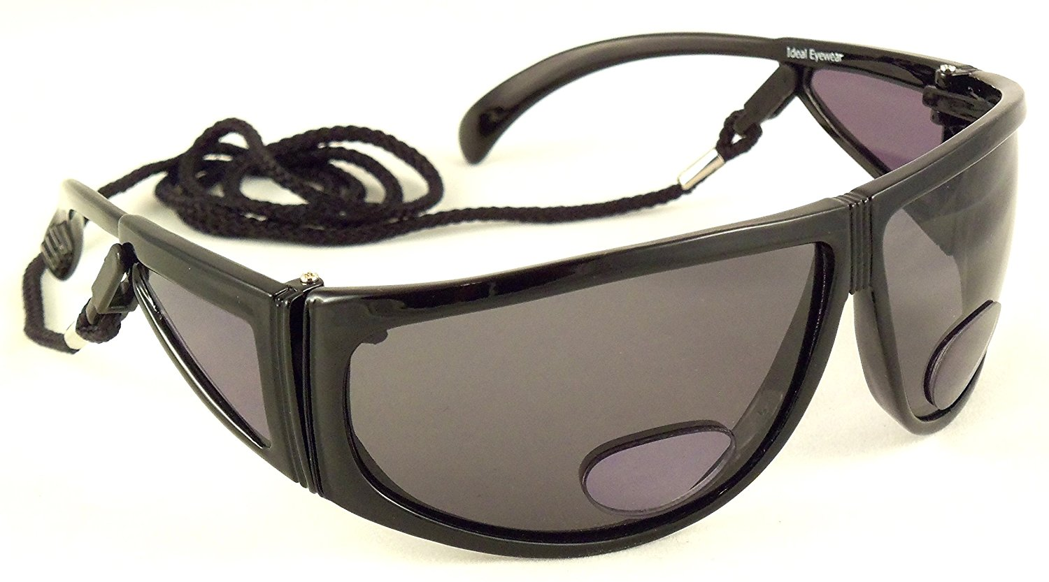 ae13baffdff5 Get Quotations · Polarized Bifocal Sunglasses by Ideal Eyewear - Sun  Readers with Retention Cord
