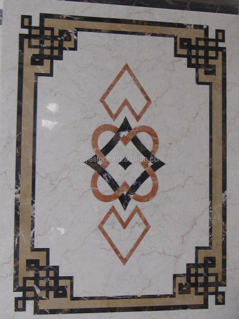 Elevator Marble Flooring Design Classic Patterns Tile
