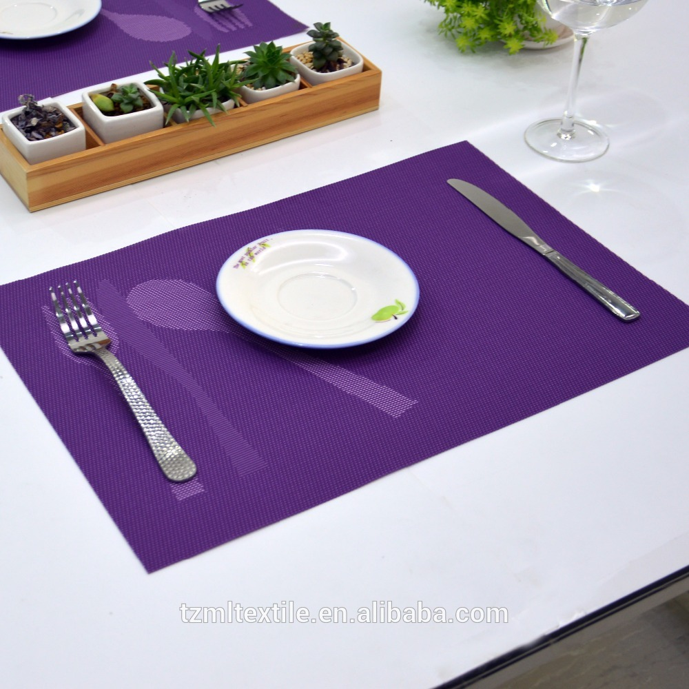 Schotel mat voor keuken, pvc warmte pad, waterdicht eettafel mat