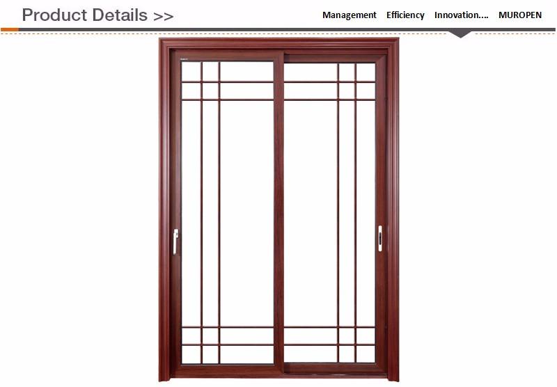 30 X 80 Prehung Interior Door Decorative Aluminium Strips Interior