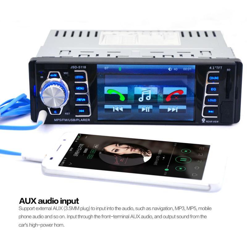 Hifi-player Aufrichtig Mp3 Player Bluetooth Multifunktions Mp3 Unterstützung Tf Karte Fm Radio Freisprechen Auto Mp3
