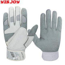 Men sublimation custom skidproof stretchable american batting gloves baseball batting gloves