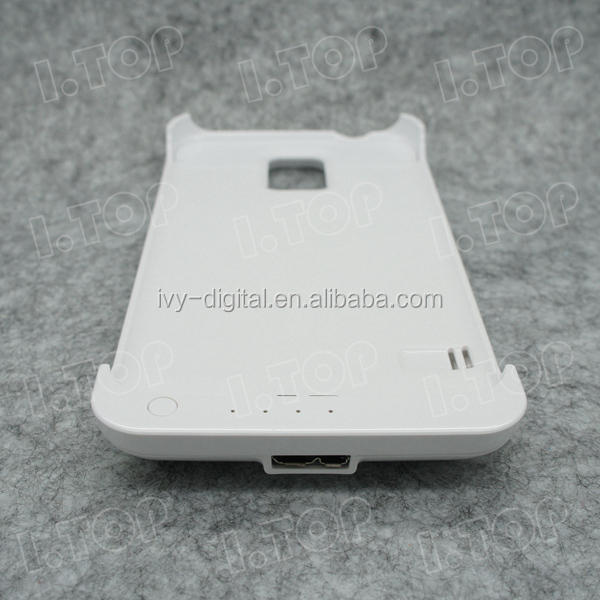 3200mAh battery case for Samsung Galaxy S4 i9500 , 18 months warranty