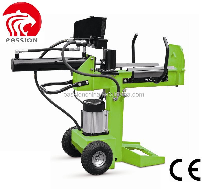 High quality new design electric log splitter,12t log splitters,4 way wedge for log splitter