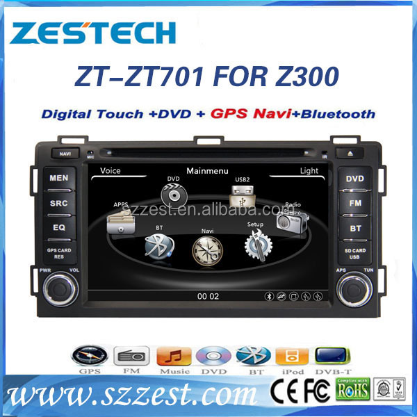 Touch Screen Car Dvd Zotye Z300 With Gps Source Quality Touch