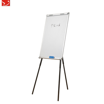 Tripod Stand Magnetic Flip Chart With Paper Clip