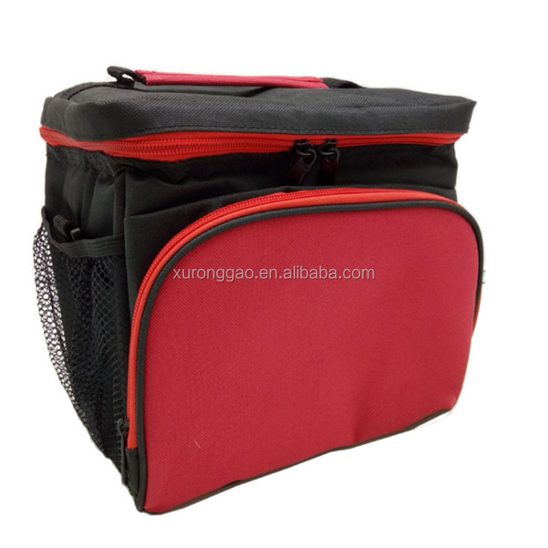 Voedsel Opslag Lunch Box Bag Geïsoleerde Cool Handtas Ice Pack Schouder ice box Zak